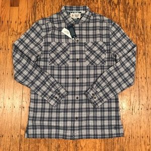 Original Penguin Blue Plaid Flannel